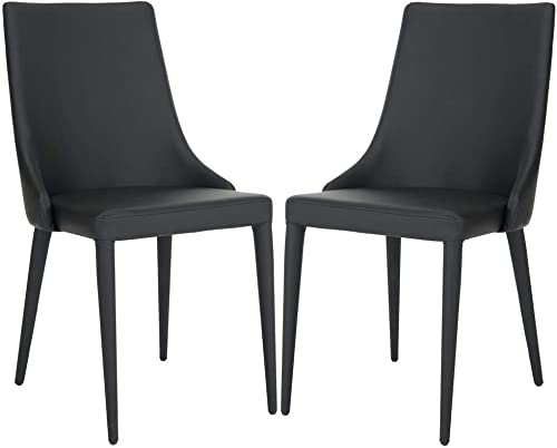 Safavieh Home Collection Summerset Black Side Chair Set of 2