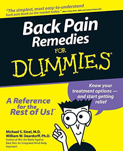 Back Pain Remedies For Dummies (Sex And Back Pain)