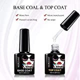 3 Colors UV Builder Gel Set Matte Top Coat Base