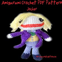 Joker From Batman Amigurumi Crochet Pattern