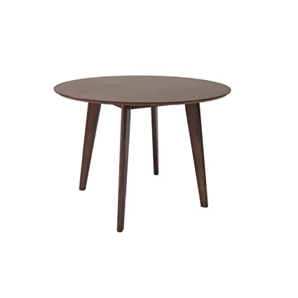 Miliboo - Mesa de comedor diseño redonda LEENA: Amazon.es: Hogar