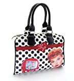 I Love Lucy Purse: Lucille Ball Padded Handles and Shoulder Strap Handbag