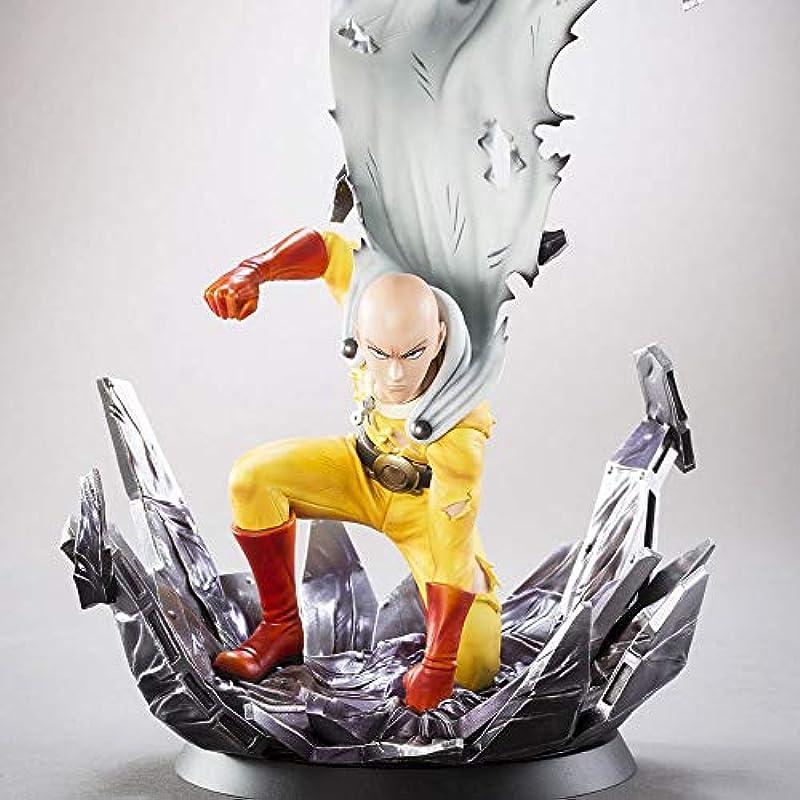 ONE PUNCH MAN 원펀맨 사이타마 사이타마 선생님 Battle Ver ABS PVC제 도장완료 완성품 피규어 애니메이션 모델 만화의 캐릭터의 조각 약240mm
