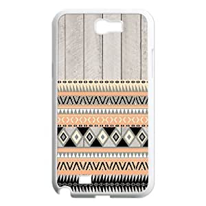 C-EUR Diy Phone Case Aztec Tribal Pattern Hard Case For Samsung Galaxy Note 2 N7100