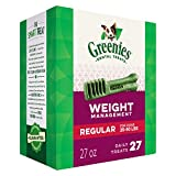 Greenies 10075565 Lite Tub-Pak Treat for Dogs, 27-Ounce, Regular