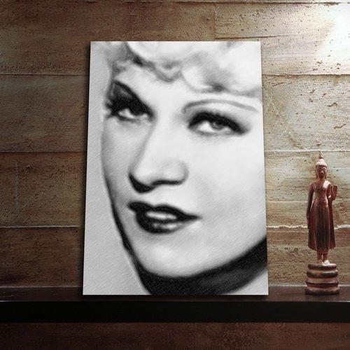 Mae West - Aimant Art Original # Js001