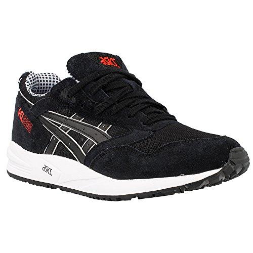 Asics Unisex-Erwachsene Gel Saga Sneaker Black/Black