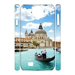 3D Samsung Galaxy S4 Case Clean City Landscape Ilike, - [White] Tyquin