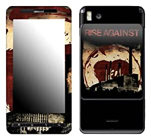MusicSkins, MS-RISA40151, Rise Against - Smokestacks, Motorola Droid X/X2, Skin
