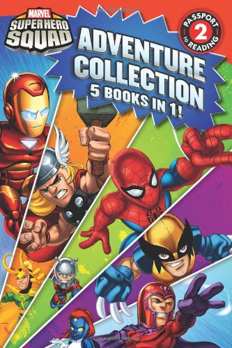 Super Hero Squad Adventure Collection (Passport to Reading Level 2) by LB Kids