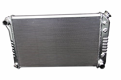 Polished KKS162 3 Rows Aluminum Radiator Fit 1973-1980 Chevy Pickup Trucks C/K Series
