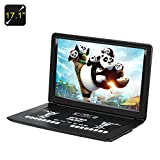 Generic 17.1 Inch Portable DVD Player (Anti Shock, Region Free, 1366x1280, USB/SD/AV Port)