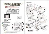 Fascinations Metal Earth Mitsubishi Zero Fighter Airplane 3D Metal Model Kit