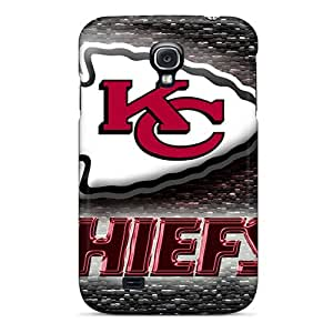 Scratch Resistant Cell-phone Hard Cover For Samsung Galaxy S4 (OSt18884jGiw) Support Personal Customs Fashion Kansas City Chiefs Skin
