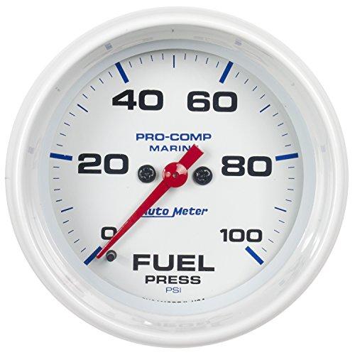 Auto Meter AutoMeter 200851 Gauge, Fuel Pressure, 2 5/8