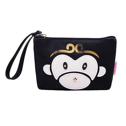 Lovely Mono estuches de maquillaje cómoda bolsa de ...