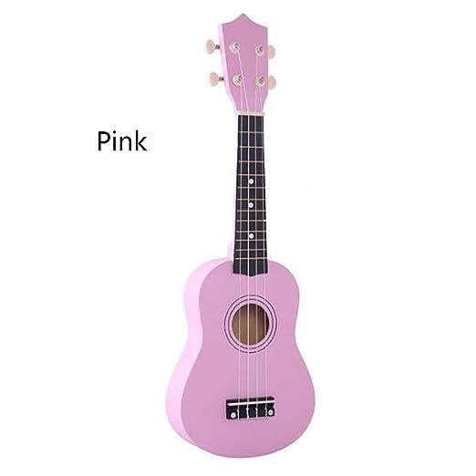 Kitechildhood Guitarra de simulación de Ukelele de Madera para ...
