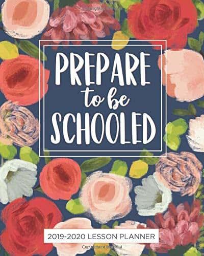 Lesson Planner for Teachers 2019-2020: