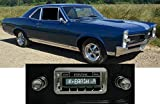 1967 GTO LeMans Tempest USA-630 II High Power 300 watt AM FM Car Stereo/Radio with AUX Input, USB Input, iPod Docking Cable. No modifications to original dash required. Review