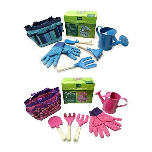 Fragil Tox Gardening Tool Set Little Gardener Tool Set with Bag Kids Children Gardening Boys Girls Gift Toys JUL31_40 Multi Medium Medium by Fragil Tox (Image #2)