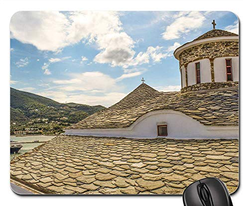 Mouse Pads - Church Dome Orthodox Religion Christianity Island