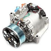 ECCPP A/C Compressor with Clutch fit for 2006-2011 Honda Civic 1.8L CO 4918AC Car Air AC Compressors Kit