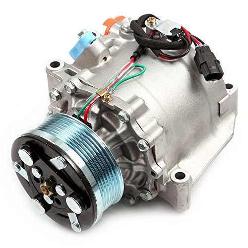 Conditioning Honda Air Compressor (ECCPP A/C Compressor with Clutch fit for 2006-2011 Honda Civic 1.8L CO 4918AC Car Air AC Compressors Kit)