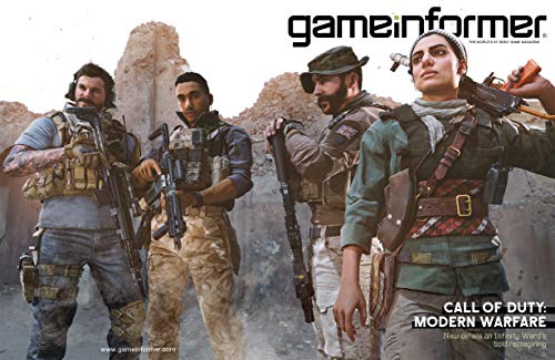 Game Informer - The World's #1 Video Game Magazine - Issue 317 -September 2019 - call Of Duty: Modern Warfare - New Details on Infinity Ward's Bold Reimagining (Game Informer Issue 1)