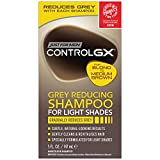 Just for Men Control GX Grey Reducing Shampoo, Blonde & Medium Brown, 5 Ounce