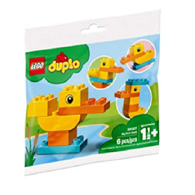 Duplo Lego My First Duck Preschool Building Toy 18 mos.: Home & Kitchen