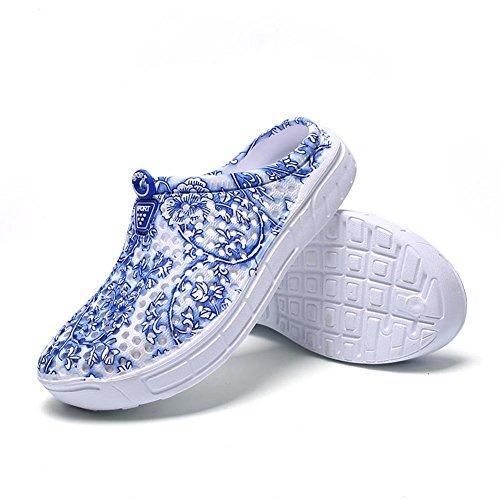 Huecos Mujeres Planos Cómodos Ocasionales Sandalias Las Verano Zapatos del Playa Zapatos de de Ecotrumpuk nPRqa6Uq