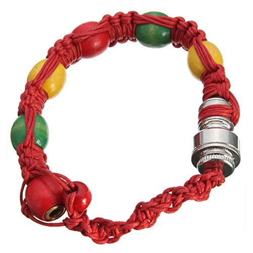 HTNSH Handmade Bead Pipe Bracelet Portable Men