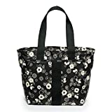 Lesportsac Essential Mini Everyday Tote (Autumn Floral Black)