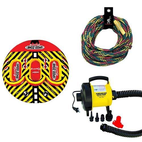 Sportsstuff Speedzone 3 Rope and Pump Bundle ()
