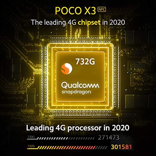 Celular Xiaomi Poco X3 6GB/128GB NFC - Azul