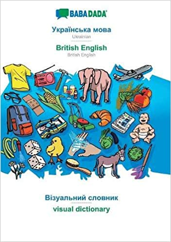visual dictionary - visual dictionary in cyrillic script BABADADA in cyrillic script Ukrainian - British English