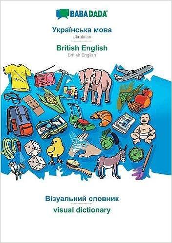visual dictionary - visual dictionary in cyrillic script BABADADA in cyrillic script Ukrainian - British English