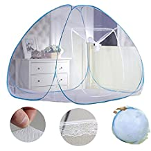 New Portable Folding Mosquito Net Tent Freestand Bed 1/2 Openings