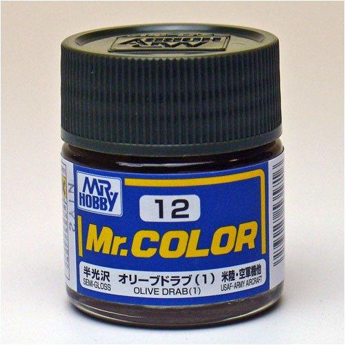 Mr.カラー C12 オリーブドラブ (1)