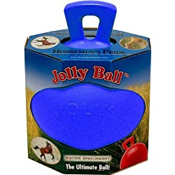 Horsemans Pride Jolly Ball: Blue by Horsemens Pride