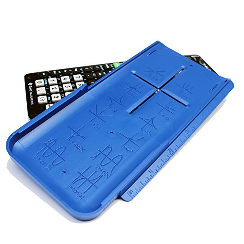 EZ Graphing Blue Hard Slide Cover for TI 84 Plus CE