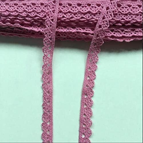 Cinta de algodón de 1 cm con encaje para manualidades, costura de ...