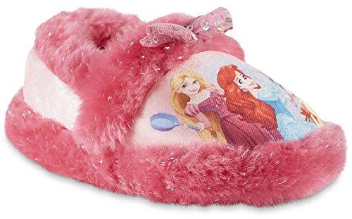 Disney Girl's Princess Slippers (11-12 M US Little Kid, Multi)]()