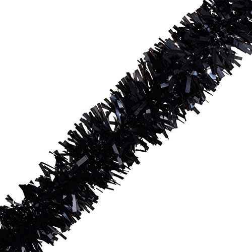 TCDesignerProducts Black Vinyl Twist Garland - 4