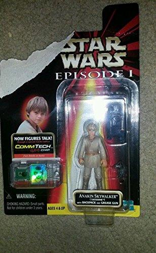 Qiyun Star Wars Episode 1 1998 Tatooine Anakin Skywalker Action Figure 076281840741
