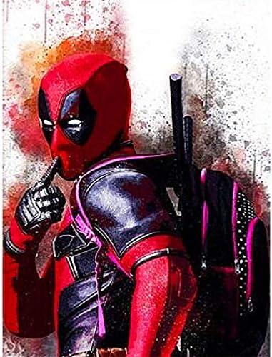 5D Pintura por Diamantes Deadpool