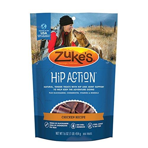 ZukeS Hip Action Chicken Recipe Dog Treats - 16 Oz. Pouch