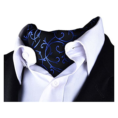 Paisley Cravat Jacquard YCHENG Tie Ascot Scarf Patterned Reversible X917 Luxury Men's wT5wXFq6
