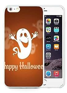 diy phone caseDesign for Mass Customization iPhone 6 Plus Case,Happy Halloween White iPhone 6 Plus 5.5 TPU Case diy phone case1
