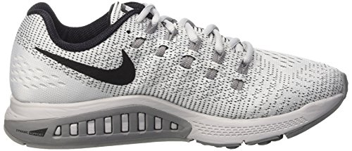 da W Gry Corsa 19 Platinum Zoom Multicolore cl Blk Pure white Donna Nike Air Scarpe Structure U0qYUd